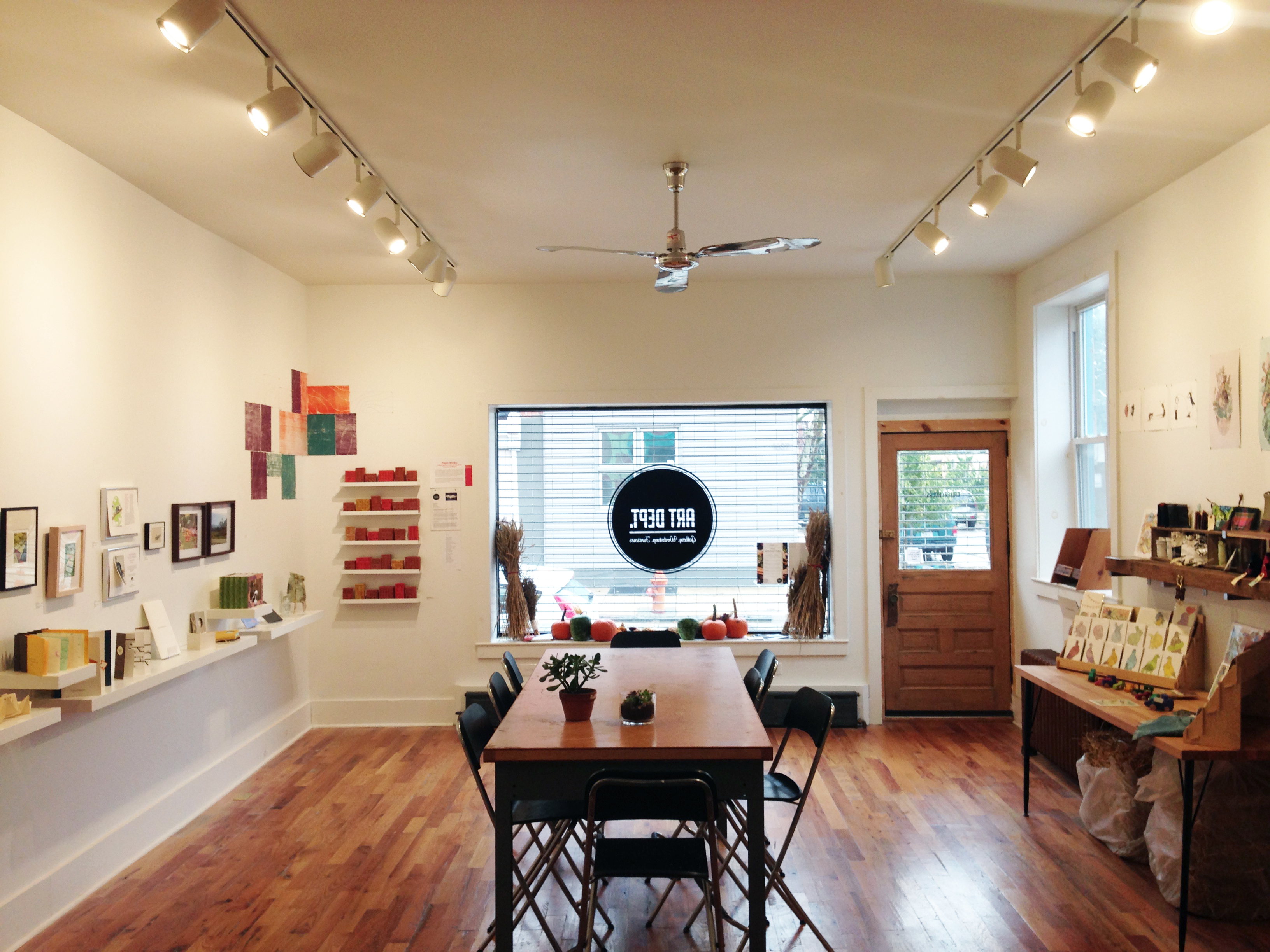 The Art Dept. Collective, located in Fishtown